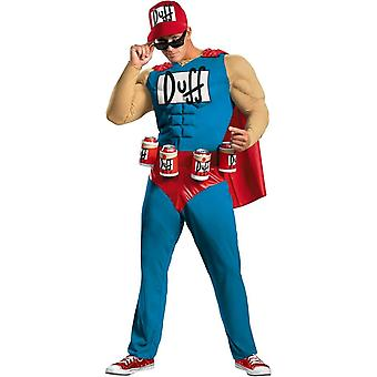 Simpsons Duffman Adult Costume
