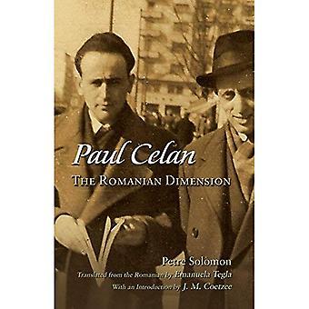Paul Celan: Rumänska dimensionen (judiska traditioner i litteratur, musik och konst)