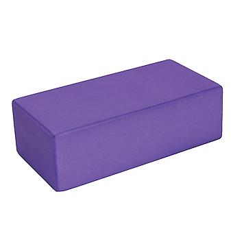 Fitness Mad Hi-Density Yoga Brick - Purple