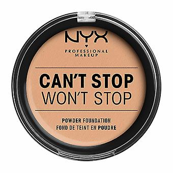 NYX PROF. MAKEUP Can't Stop Won't Stop Powder Foundation - Natural