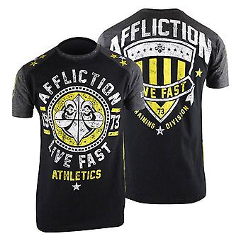 Affliction Mens Alpha T-Shirt - Black