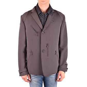 Brema Ezbc146001 Men's Brown Wool Blazer