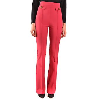 Elisabetta Franchi Ezbc050181 Women's Fuchsia Polyester Pants