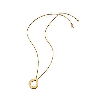 Kaytie Wu Gold Plated Water Drop Necklace 28019