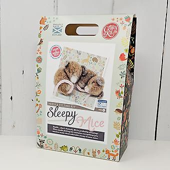 Sleepy Mice Needle Felting Kit Sleepy Mice Needle Felting Kit Sleepy Mice Needle Felting Kit Sleepy