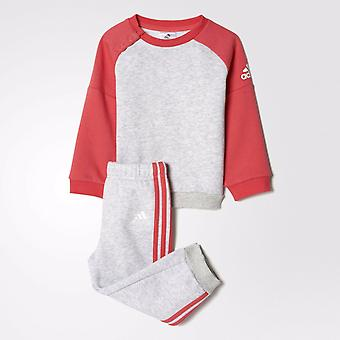 Adidas Infant Girls Sports Crew Tracksuit