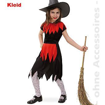 Hexe Kostüm Kinder Zauberin Magierin Halloween Kinderkostüm