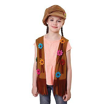 Bristol Novelty Girls Hippy Waistcoat