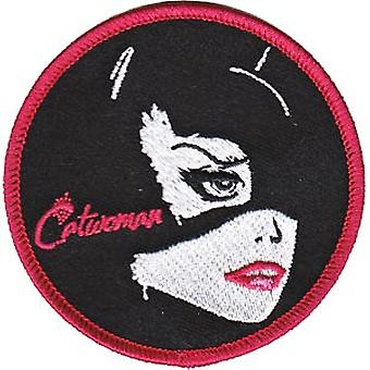 Patch - DC Comic - Batman - Catwoman Circle Iron On Gifts Toys New p-dc-0082