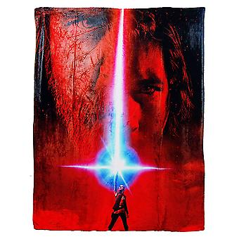 Silk Touch Throw Star Wars Eps 8 Poster Team Infinity 45x60
