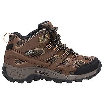 Merrell Earth Childrens Moab 2 Mid Waterproof Walking Boot