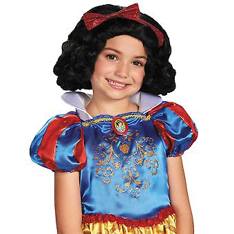 Snow White Disney Princess Story Book Week Girls Costume Wig