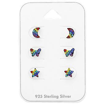 Regenbogen - 925 Sterling Silber Sets - W38734X