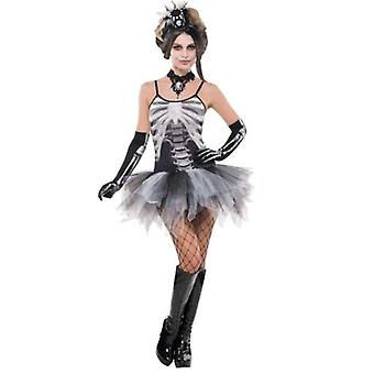 Amscan Costume Black & Bone Dress for Adult (Babies and Children , Costumes)