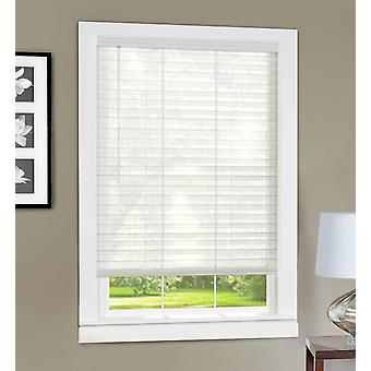 Achim Home Furnishings LVCO27WH06 Light Vane 2-Inch Slat Blind, 27 per 64 pollici, bianco