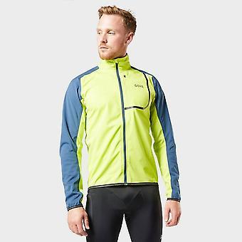 New Gore Men's C3 GORE® Windstopper® Jacket Green