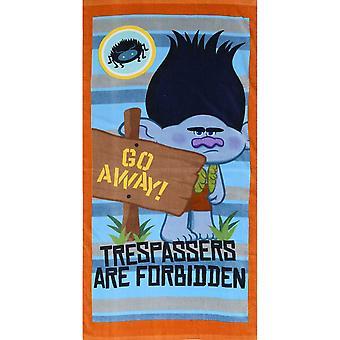 Trolls Childrens/Kids Trespassers Towel