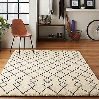 Martil MAT01 Ivory Charcoal  Rectangle Rugs Plain/Nearly Plain Rugs