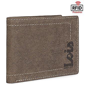 Äkta läder horisontella mäns plånbok modell Debauch
