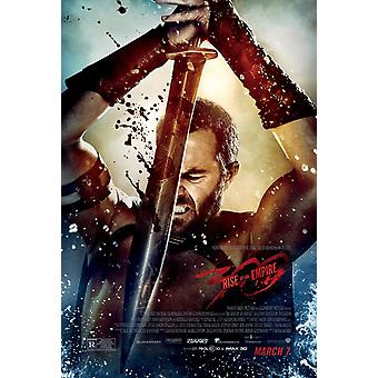 300 Rise Of An Empire Original Movie Poster - Double Sided Regular Style B