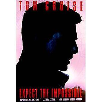 Omöjligt uppdrag (förskott) (enkelsidig) original Cinema affisch