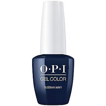 OPI GelColor gel kleur-Soak off gel Pools-Russische Marine 15ml (GC R54)