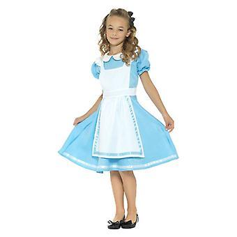 Ragazze principessa del paese delle meraviglie Fancy Dress Costume