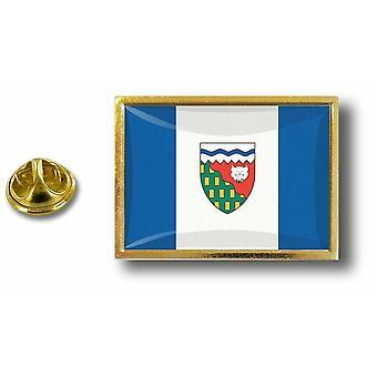 Pine PineS Abzeichen Pin-Apos;s Metall Kanada Flagge Nordwest-Territorien