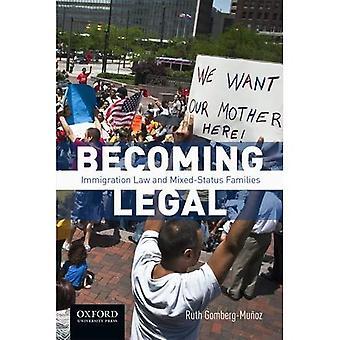 At blive juridisk