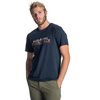 Rip Curl Hey Mama kortærmet T-shirt i mørkeblå