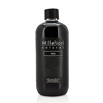 Millefiori Natural Fragrance Diffuser Refill - Nero - 500ml/16.9oz