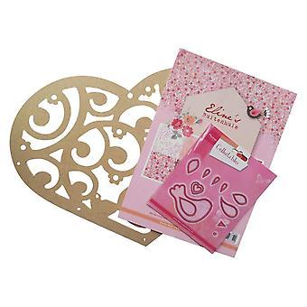 Marianne Design MDF Heart Assortment Die Pack