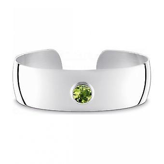 QUINN - Cuff - Mulheres -Prata 925 - Gemstone - Peridot - 29011947
