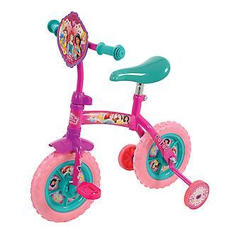 Disney Princess 2 en 1 10 pouces vélo d'entraînement