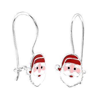 Boucles d'oreilles Pour enfants et de l'argent Sterling Santa Claus