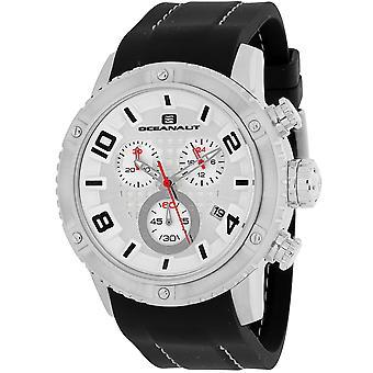 Oceanaut Men-apos;s Impulse Sport Silver Dial Watch - OC3121R