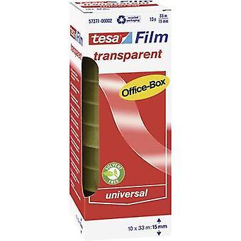 tesa 57371-00002-00 57371-00002-00 Tesa film tesafilm® شفاف (L x W) 33 م × 15 ملم 10 أجهزة الكمبيوتر (s)