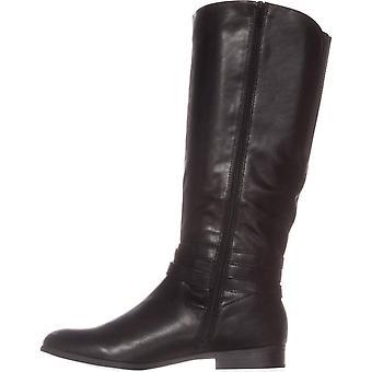ファッションのニーハイ ブーツをスタイル ・株式レディース Keppurp アーモンドつま先