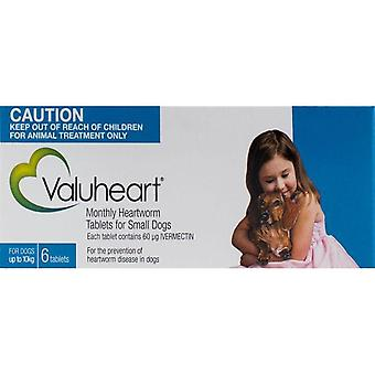 Valuheart Blue Dogs under 22 lbs (10 kg) - 6 Chewables