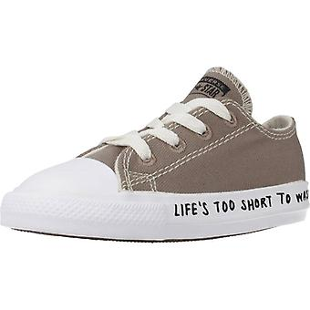 Converse Sneakers Ctas Ox Mason Couleur Taupe