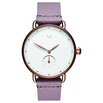 MVMT Bloom Women's Watch Wristwatch Leather D-FR01-RGPU