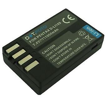 Dot.Foto Pentax D-LI109 Replacement Battery - 7.4v / 1050mAh