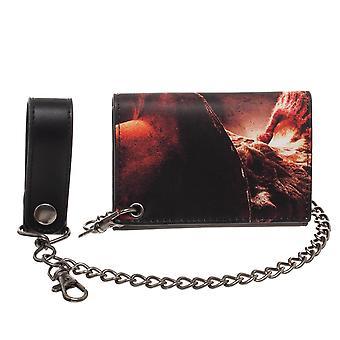 Wallet - Nightmare on Elm Street - w/Chain New mw78w6noe
