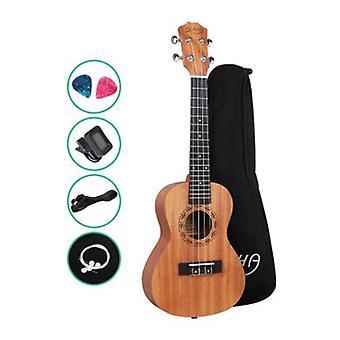 Alpha 23 Inch Concert Ukulele Mogno Ukelele Hawaii Guitar