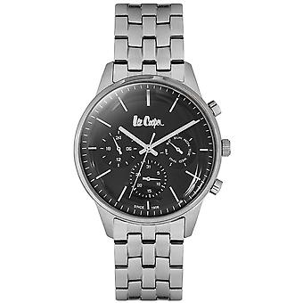 Shows Lee Cooper-LC06505-350 - steel Silver Dial black man e