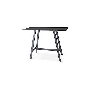 Plage7 - France Tableau de barre d'Avalon 150 x 170 x 108 cm. pour 2 - 6 personnes Mystic Grey tables de jardin