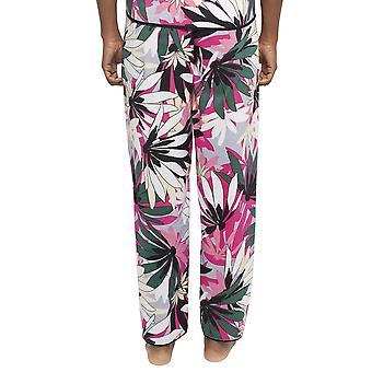 Cyberjammies 4412 Kvinder's Layla Pink Floral Print Bomuld Pyjama Pant