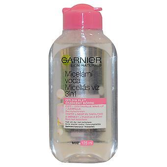 Garnier Skin Active płyn micelarny oczyszczanie wody 125ml do skóry wrażliwej