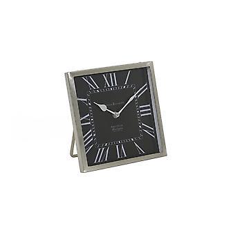 Light & Living Clock 21x21x3cm Kelston Black-Antique Lead