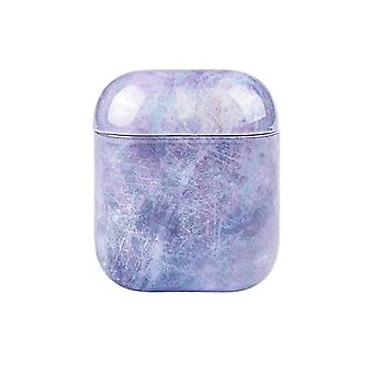Protective case for AirPods - Purple Marble